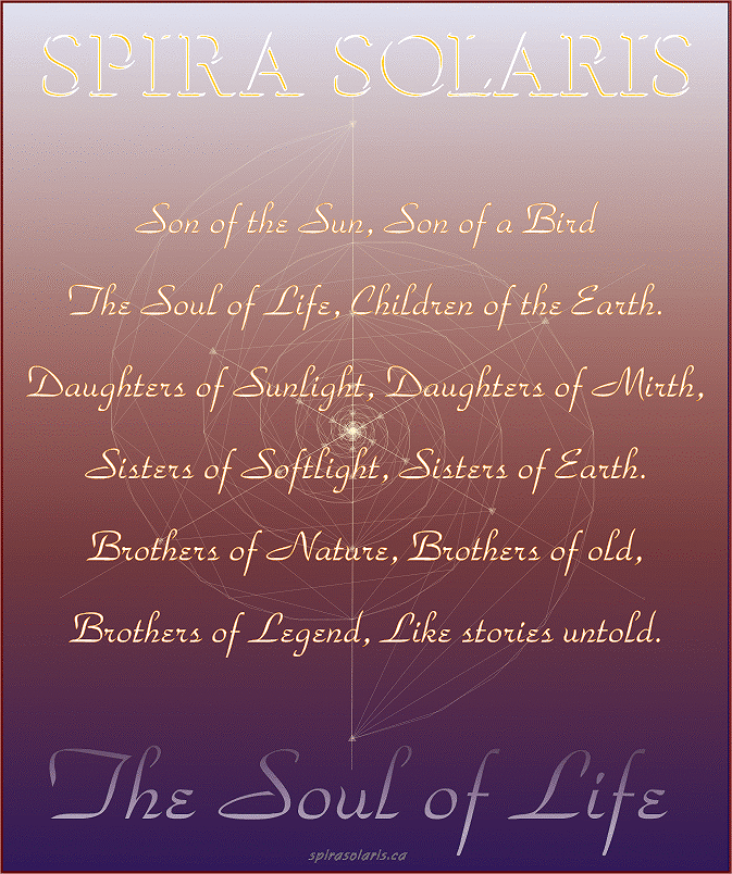 Spira Solaris and the Soul of Life